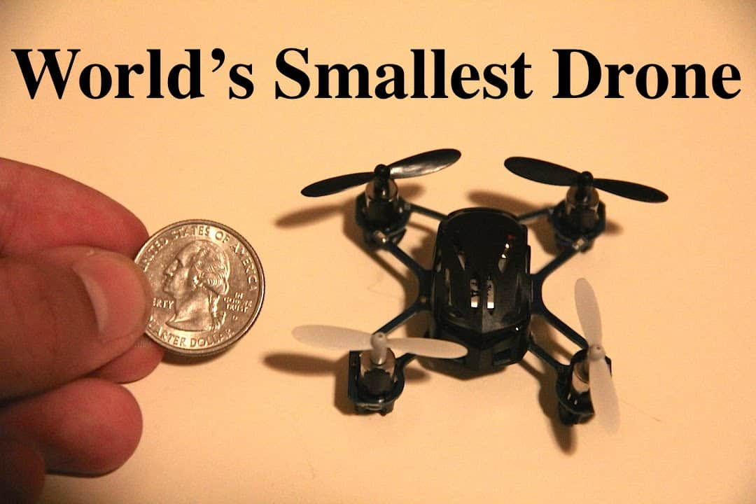 Meet The Worlds Smallest Camera Drone