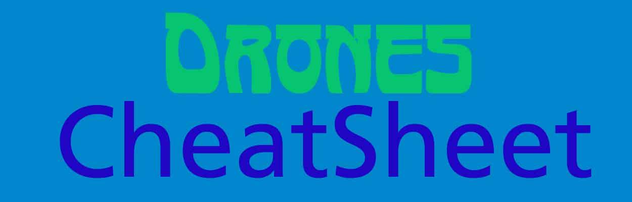 Drones-CheatSheet