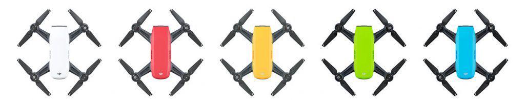 DJI Spark Drone Colors