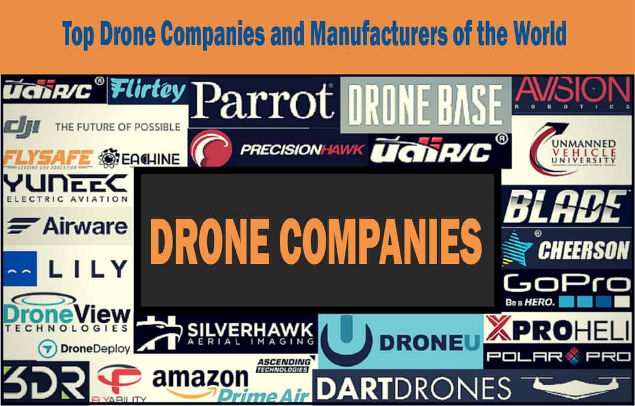 Top-Drone-Companies-and-Manufacturers-of-the-World