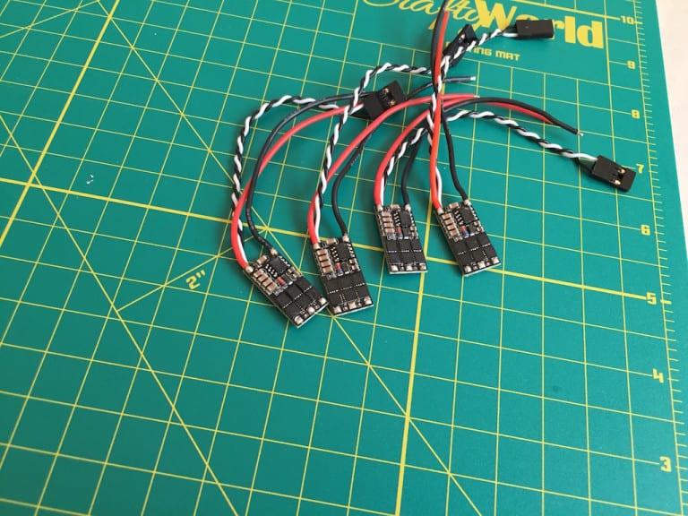 ZMR180 miniquad Unboxing - ESC After