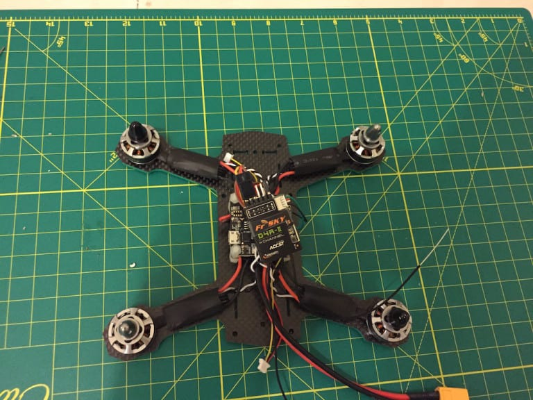 ZMR180 miniquad Unboxing - Telemetry on boad