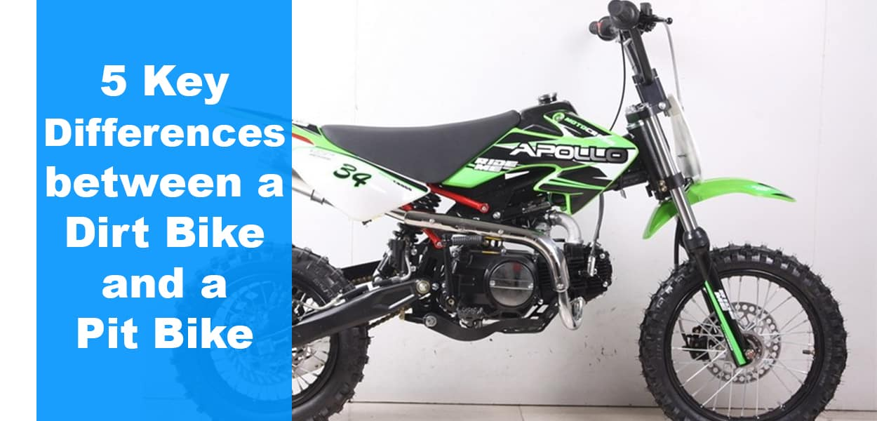 5 Key Differences between a Dirt Bike and a Pit Bike - The