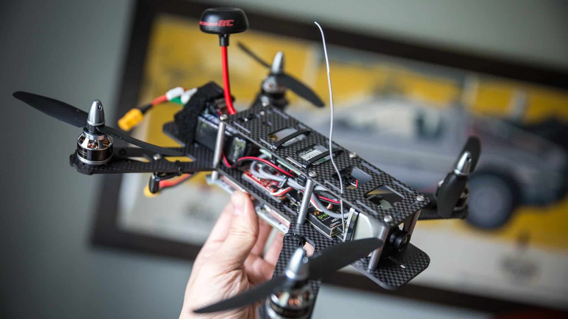 Modern Quadcopter With Fpv Wiring Vanguard Engine Electrical Diagram ...