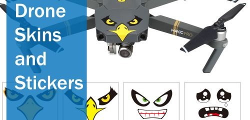 Drone Skins and Stickers - The Top 10 Best Drones - 2019